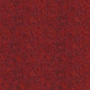 Moqueta ferial para eventos color rojo melier